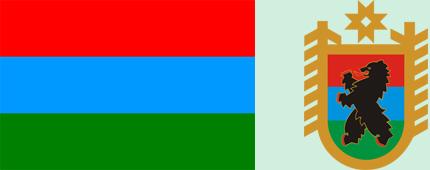 флаг карелия республики фото